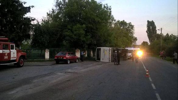 На Черкащині сталася жахлива ДТП: п'ятеро постраждалих (ФОТО)