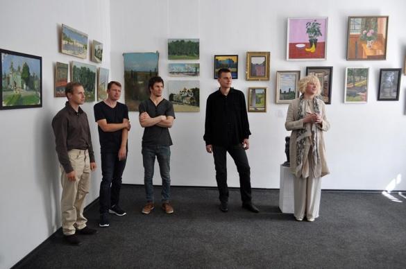 У Черкасах дебютували молоді місцеві художники