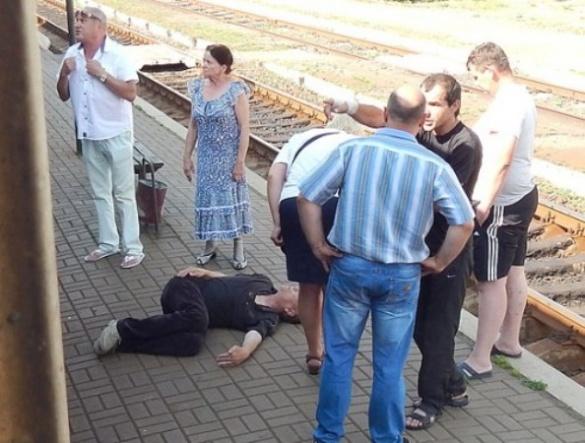 Нетверезий черкащанин випав з вагона дизеля