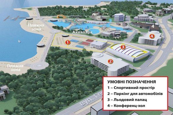 Альтернатива багатоповерхівкам - аквапарк: якою може бути черкаська набережна? (ФОТО)