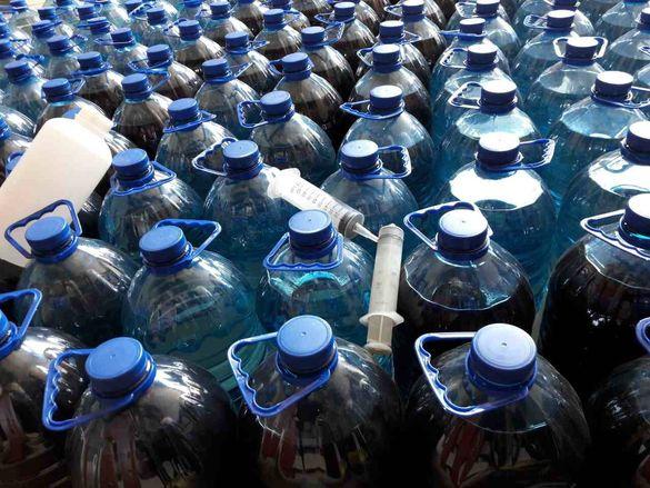 У Черкасах викрили масштабний цех з виробництва  алкоголю
