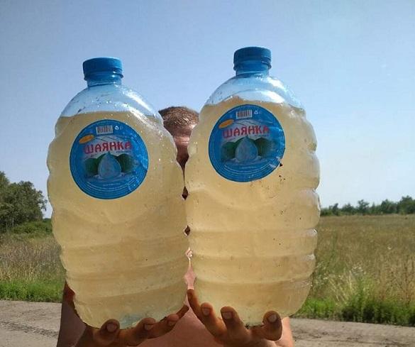 Реалії на передовій: волонтерка з Черкас показала, яку воду п'ють солдати в зоні АТО