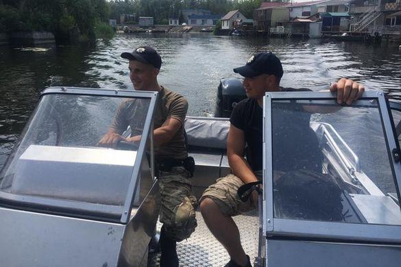 Про один день із життя водної поліції Черкас