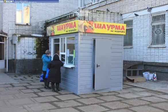 Депутат пропонує встановити біля під'їзду головного архітектора Черкас кіоск із шаурмою