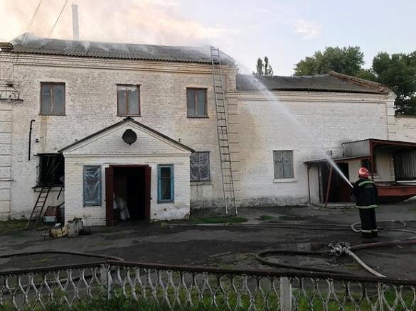 На Черкащині сталася пожежа на заводі