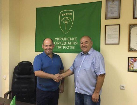 Депутат Черкаської міськради став очільником обласної організації політичної партії
