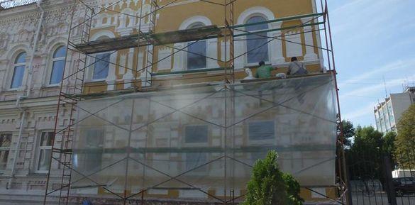 У дитячій художній школі імені Данила Нарбута оновлюють фасад