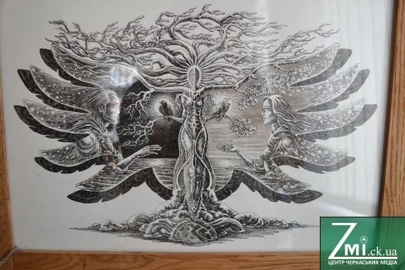 АТОвець із Черкащини продає власні картини, щоб врятувати собі життя (ФОТО)