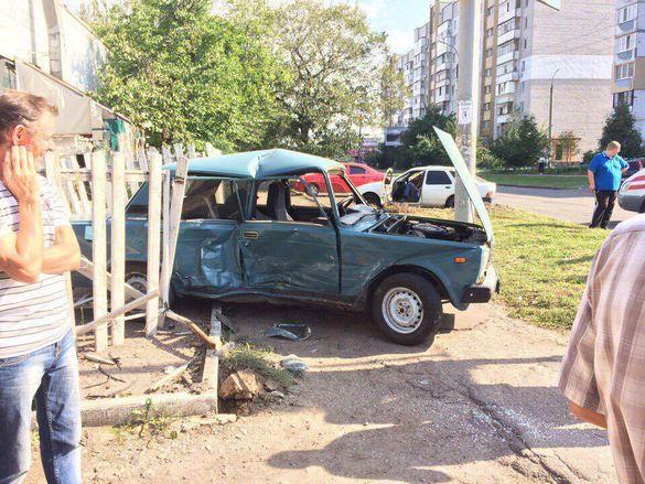 У поліції розповіли подробиці ДТП з потерпілими, що сталася у Черкасах