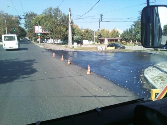 У Черкасах тимчасово обмежили рух одного із тролейбусних маршрутів