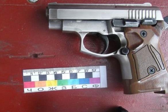 На Черкащині у чоловіка вилучили пістолет та набої до нього