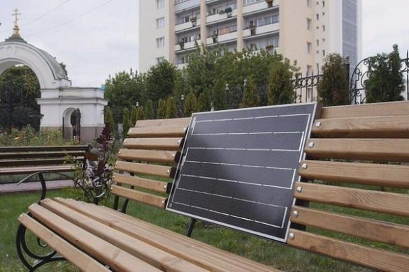 У Каневі з'явиться лавка, на якій можна буде зарядити гаджет (ФОТО)