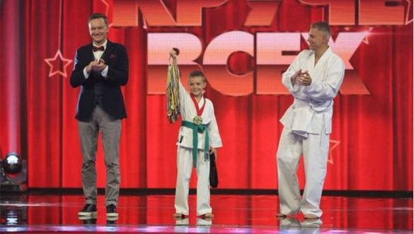 Маленький смілянин яскраво виступив на всеукраїнському талант-шоу