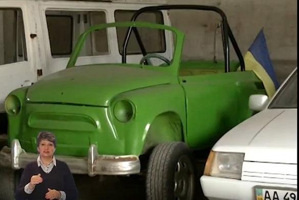 Черкащанин створив цілий автопарк із власноруч зібраних автівок (ВІДЕО)
