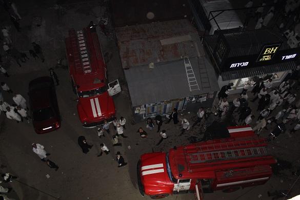 В уманській квартирі хасиди влаштували пожежу (ФОТО)