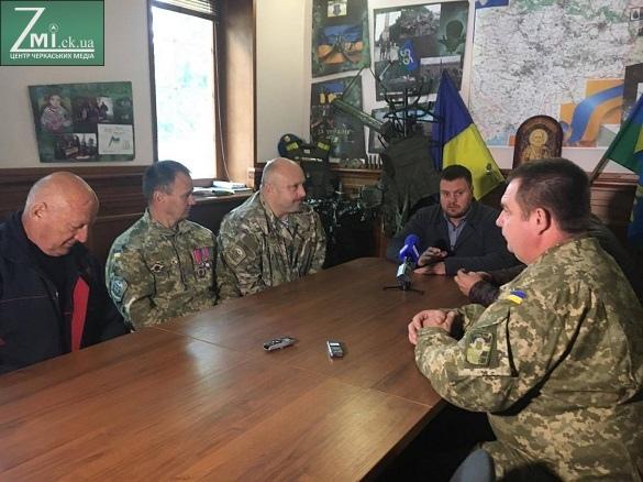 Військовослужбовці вимагають, щоб мер Черкас вибачився перед родинами загиблих АТОвців