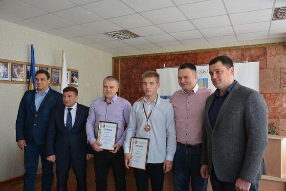У черкаському відділенні НОК відзначили роботу та успіхи боксерів