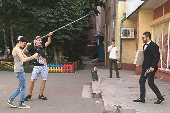 Молодий режисер знімає у Черкасах кримінальні фільми