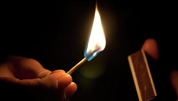 На черкащанці, яка намагалися зігрітися, спалахнув одяг