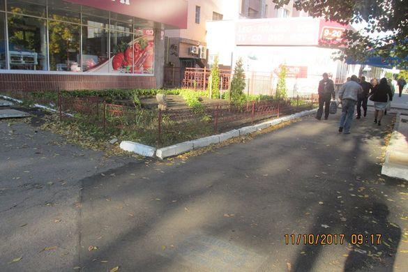 У центрі Черкас відремонтували одну із найгірших ділянок тротуарів