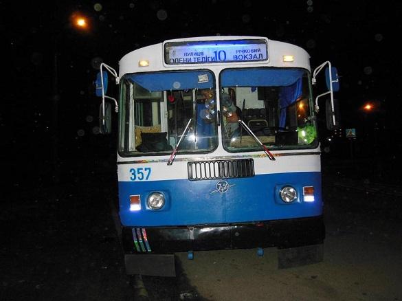 У Черкасах на одному з маршрутів побільшало тролейбусів