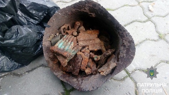 У Черкасах знайшли мішок із людськими останками (ФОТО)