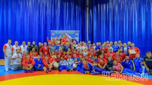 Черкаські самбісти здобули призові місця на Чемпіонаті світу