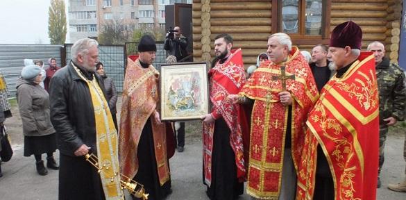 До Черкас привезли ікону та мощі Святого Георгія Переможця (ВІДЕО)