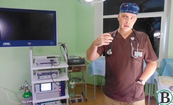 У Черкаському обласному онкодиспансері з'явилася сучасна лапароскопічна стійка (ФОТО)