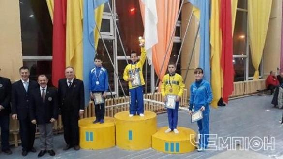Юні черкаські гімнасти вибороли нагороди чемпіонату України