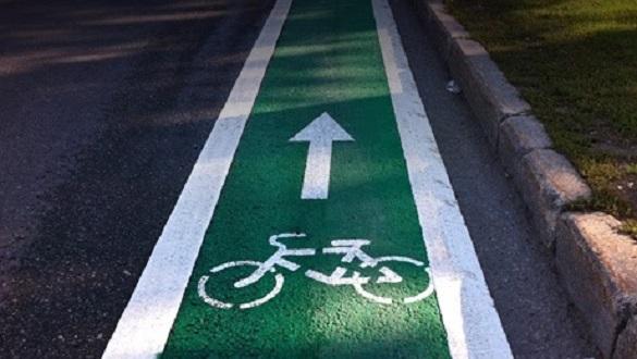 На одній із черкаських вулиць планують облаштувати велосипедну доріжку