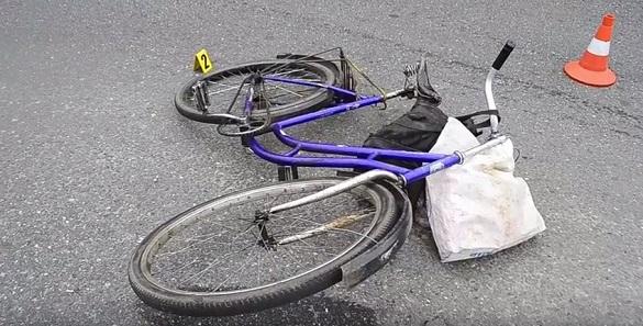 У Черкасах розшукали водійку, яка збила велосипедиста (ВІДЕО)
