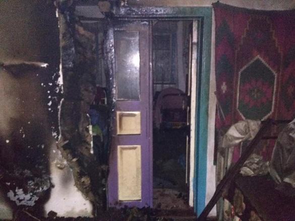 На Черкащині горів житловий будинок: загинув чоловік (ФОТО)