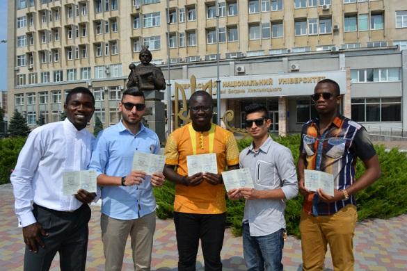 Стало відомо, студенти з яких країн світу навчаються на Черкащині