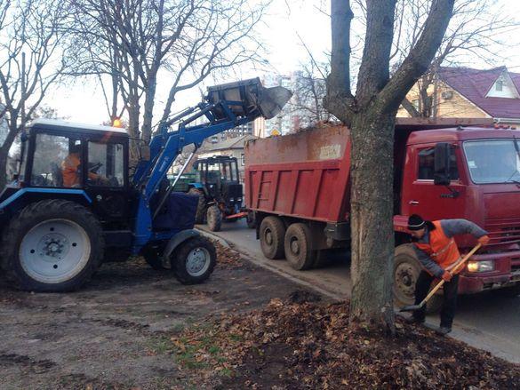 Черкаські вулиці від бруду та листя вже прибирає нова техніка (ФОТО)