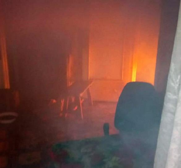 На Черкащині у житловому будинку сталася пожежа: евакуювали п'ятьох людей