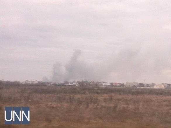 В Умані горить єврейський квартал (ФОТО, ВІДЕО)