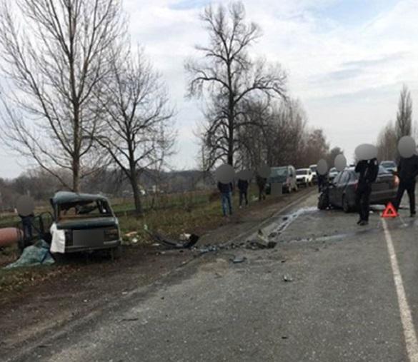 На Черкащині сталася страшна ДТП: загинули водій та немовля