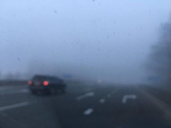 До уваги водіїв та пішоходів: на Черкащині очікується туман та ожеледиця