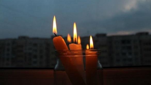 Стало відомо, де у Черкасах сьогодні не буде світла