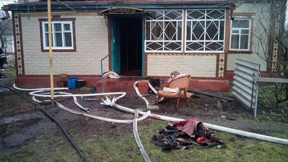 На Черкащині сталася пожежа зі смертельними наслідками