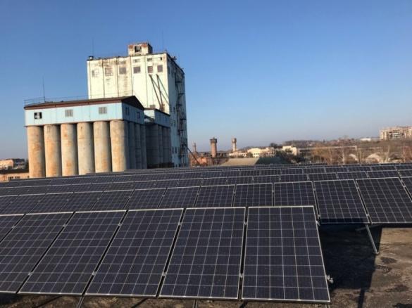 На Черкащині запустили сонячну електростанцію