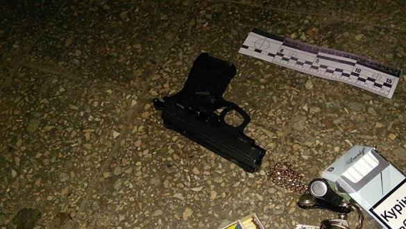 У Черкасах затримали нападника з пістолетом (ФОТО)
