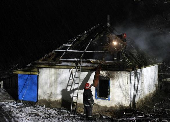 На Черкащині сталася пожежа: загинуло четверо дітей (ФОТО)