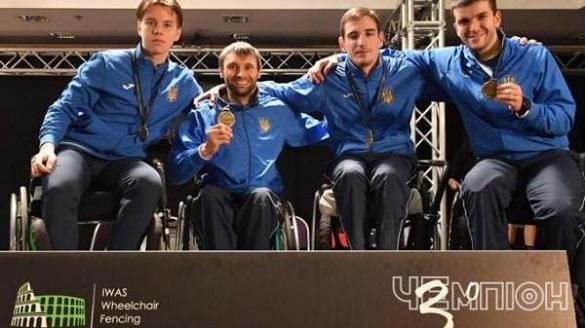 Черкаські паралімпійці вибороли призові місця на чемпіонаті України з фехтування