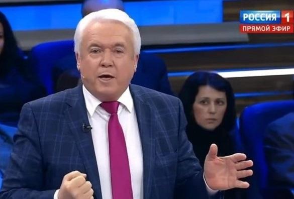 Колишній мер Черкас влаштував істерику в ефірі російського телеканалу (ВІДЕО)