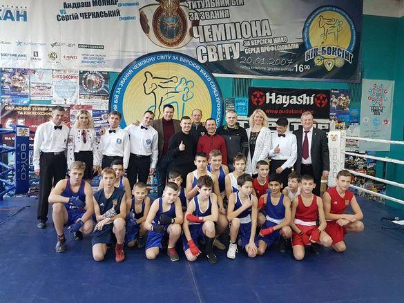 Перемоги та нові завдання: черкаські боксери підвели підсумки року