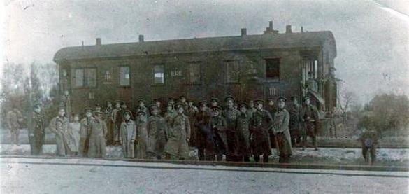 На Черкащині зняли епізод історичного фільму про битву під Крутами