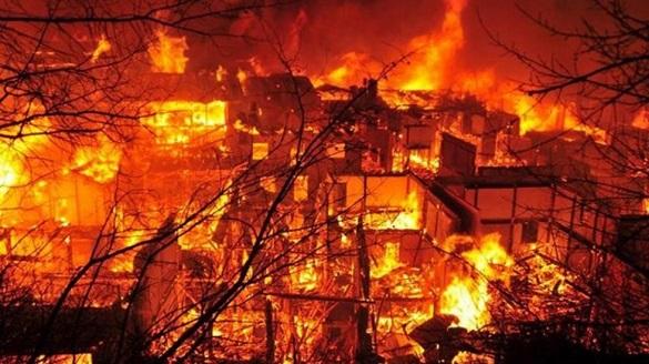На Черкащині під час пожежі загинула людина