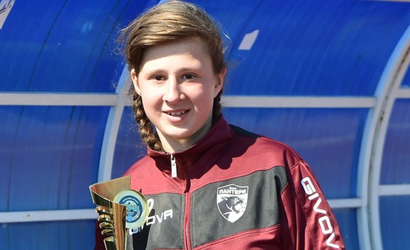 Юна черкащанка стала кращою футболісткою України